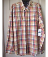 New Tommy Hilfiger Men's Slim Fit Plaid Long Sleeves Shirts Variety Colo... - $33.99