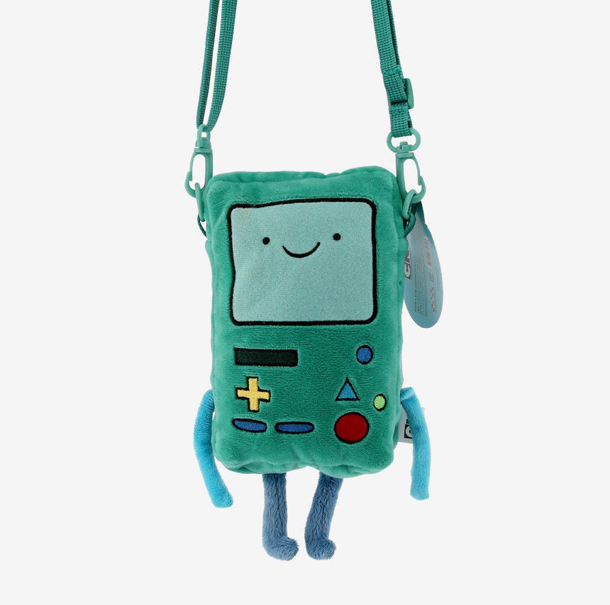 Adventure Time BMO Pouch Doll Plush Doll Pillow Cartoon Network Finn Jake Toy