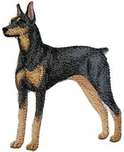 Amazing Custom Dog Portraits [Doberman Pinscher] Embroidery Iron On/Sew ... - €8,51 EUR