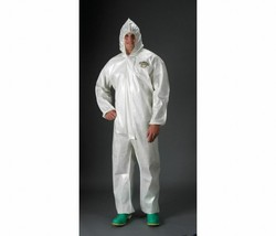 Hooded Chemical Resistant Coveralls lPBLC44428-3X ChemMax(R) Bound Elast... - $7.91
