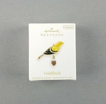 "Hallmark 2010 Keepsake Christmas Miniature Ornament ""Goldfinch"" Beauty o... - $59.35"