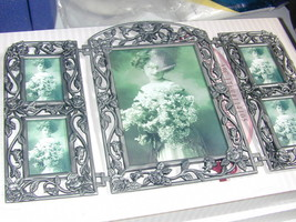 Pewter Collage Picture Frame  4 small 1 Larger - $26.18