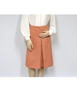 Preppy Skirt / United Colors of Benetton / A-line / Pleated / Tweed  - $24.00