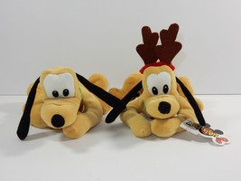 "Mouseketoys Pluto 9"" Bean Bag Plush - $9.49"