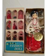Vintage 1970'S Bradley Big Eye Musical GUITARIST Fashion Doll in Original Box - $32.62