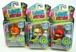 Hasbro Lock Stars Series 1 Suprise Stocking Stuffers  Ages 4 +   Lot of ... - $6.74