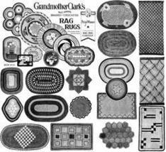 Rag Rug Book Crochet Homemade Depression Patterns 1934 - $12.99