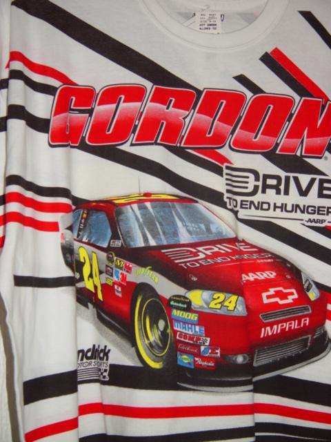 Jeff Gordon Drive To End Hunger Aarp Henclrick Motorsports Shirt Size 2xl 50 52 Racing Nascar