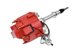 AMC JEEP 232 258 4.0 4.2 6 CYL HEI  DISTRIBUTOR 65K Volt RED image 2