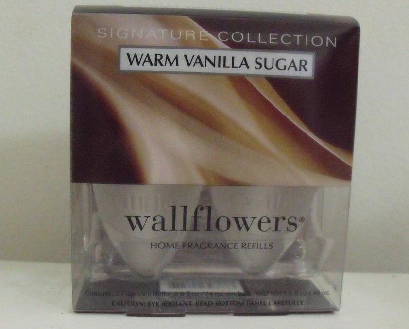 Bath and Body Works New Warm Vanilla Sugar Wallflower Refill Bath & Body Works