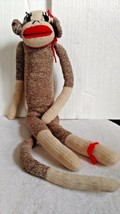 Vintage SOCK MONKEY from the 70's  FEMALE - $17.82