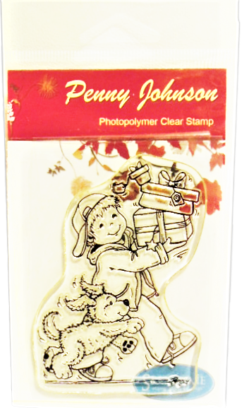 """Penny Johnson """"A Special Delivery"""" Stamp"""