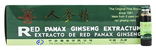Red Panax Ginseng Extractum Prince Of Peace 30 Vial - $21.65