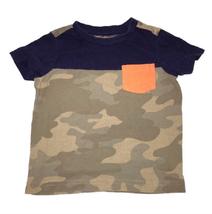First Impressions Camo Blue T Shirt 12M - $9.89