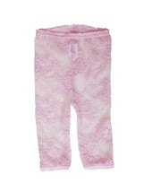 LACY LEGGINGS – Pink by Baby Bella Maya Size 6-12 Months - $10.29