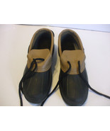 Weather Guard Duck Shoes Brown Black Size 6 Kids 9.5 Inches - $16.04