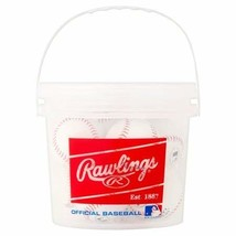 Rawlings 8 Pack Bucket of Balls - $27.05