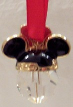 Disney minnie swarovski crystal christmas ornament new bk thumb200
