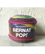 Bernat Pop! Self-Striping Medium Weight Yarn - 1 Skein/Ball Paisley Pop ... - $8.50