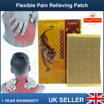 8 X LARGE TIGER BALM PLASTER Mental Ointment Back Muscle Joint Ache Kne... - $5.57
