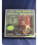 Old Time Radio's Greatest Mysteries 20 Audio Cassettes 30 Hours 60 Programs - $8.90