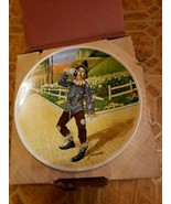 The Wizard Of Oz - If I Only Had A Brain Knowles Collector Plate with Bo... - $19.79