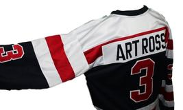 Custom Name # Cobalt Silver Kings Hockey Jersey New Sewn Art Ross Any Size image 4