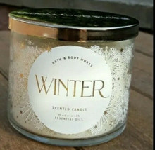Bath & Body Works WINTER Large 3-Wick 14.5 oz Candle NEW - $22.77