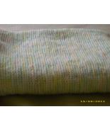 BABY BLANKET IN PASTEL COLORS - $35.00
