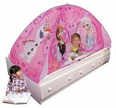 Frozen Twin Size BED Toddler TENT PlayHut 3 years & UP PERFECT GIFT BRAN... - $45.09