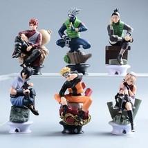 Naruto Action Figure Anime Pvc 9cm Cool Uzumaki Hinata Madara Kakashi Fi... - $19.62