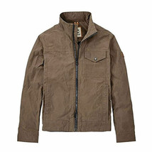 TIMBERLAND A1O1J-244 MT. DAVIS TIMELESS MEN'S BROWN WAXED CANVAS JACKET - $86.24