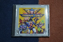 Freedom Force  PC EA Electronic Arts (Video Game) Best of E3 Crave - $9.46