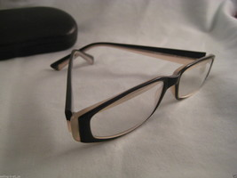 HUMPHREY'S Eschenbach Black & White Rx Eyeglasses Plastic Eye Glass Fram... - $19.35