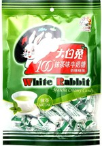White Rabbit Green Tea Matcha Creamy Milk Candy 5.3 oz ~BUY 3 GET 1 FREE - $9.85