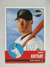 Mark Kotsay Florida Marlins 2001 Upper Deck Baseball Card 273 - $0.98