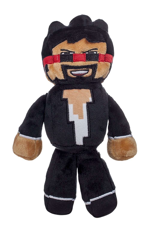 Tube Heroes CaptainSparklez Plush Character Toy Jazwares - $6.00