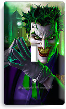 Joker Batman Comics Single Light Switch Wall Plate Cover Boy Room Home Art Decor - $8.99