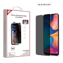 For Samsung Galaxy A20 Privacy Tempered Glass Screen Protector Anti Spy/... - $8.34