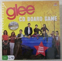 Glee CD Board Game 2010 New Factory Sealed Free US Shipping  - $13.85
