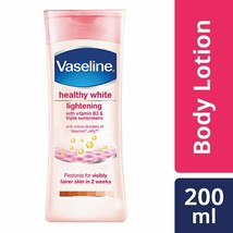 Vaseline Healthy White Lightening Body Lotion, 200 ml - $16.82