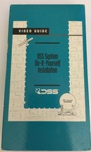 DSS System do-it-yourself installation on VHS-TESTED-RARE VINTAGE-SHIPS ... - $16.71