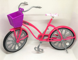 Barbie Glam Bike w/ Basket • 2009 Target Exclusive BICYCLE ONLY Replacem... - $9.46