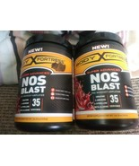 2x Body Fortress NOS Blast Pre-Workout Amplifier Fruit Punch 1 lb Best B... - $31.67
