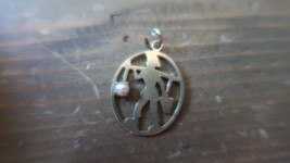 Vintage 12k Gold Filled Pail of Water Pearl Charm 2.7cm - $19.79
