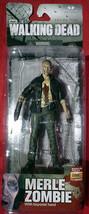 2014 McFarlane AMC The Walking Dead TV Series 5 Zombie Merle Dixon Actio... - $9.95