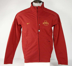 Nike Iowa State Therma Fit Zip Front Bonded Collegiate Jacket Men's NWT - $89.99