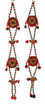 Wall Hanging decorative ornament Christmas Diwali Party Handmade string ... - $20.40