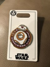 Star Wars Droid BB-8 Join the Resistance Spinner Disney Pin - $13.98