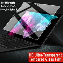 Tempered Glass Microsoft Surface 3 Pro 4 5 6 Case Screen Protective Film - $17.26+
